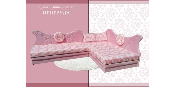 Приста с единично легло Пеперуда – произведено от Дона Груп