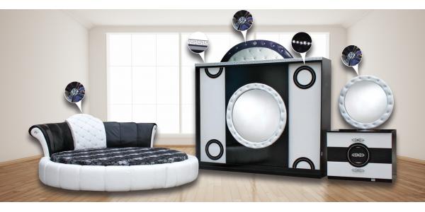 Спален комплект Виолета – произведено от Дона Груп